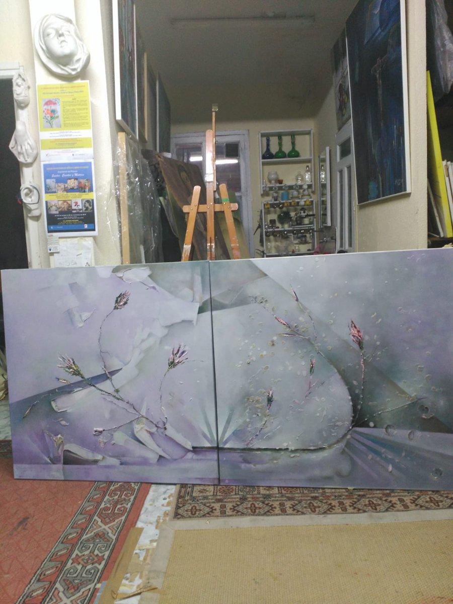 My grandmother's painting or GAN art