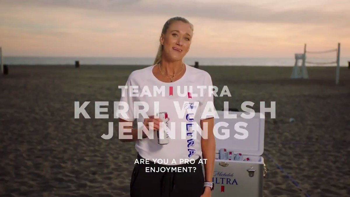Think you're set to be @kerrileewalsh's teammate on #TeamULTRA? Then enter for your chance to win an official endorsement deal with us at http://TeamULTRA.com   #DoItForTheCheers #TeamULTRAcontest