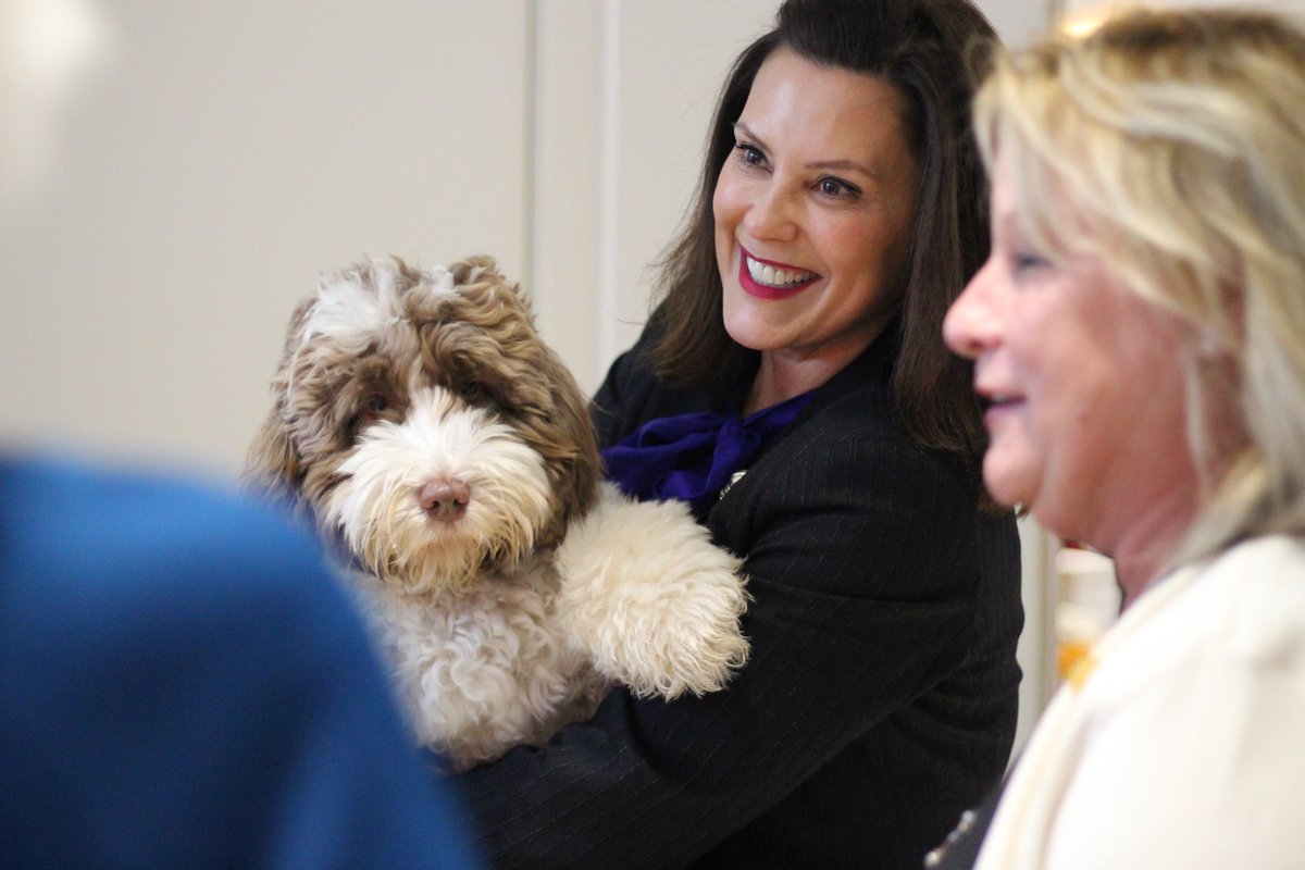 Gretchen Whitmer On Twitter Life Is Never Boring With This Guy Around Loveyourpetday