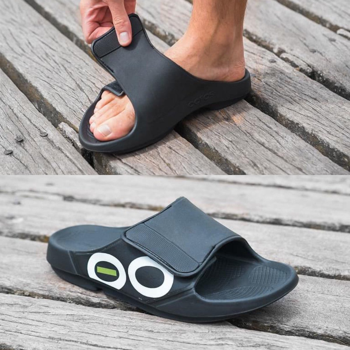 All new @oofos have arrived including the new OOAHH Flex Sandal!! Same great feel with an adjustable strap for improved fit! <br>http://pic.twitter.com/k1YoSYNMQc