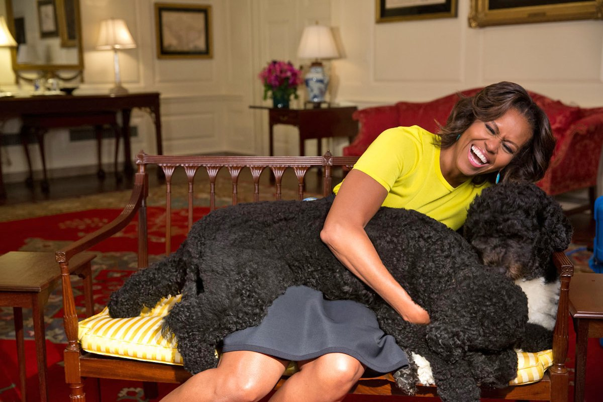 Sending extra hugs to Bo and Sunny on #LoveYourPetDay!