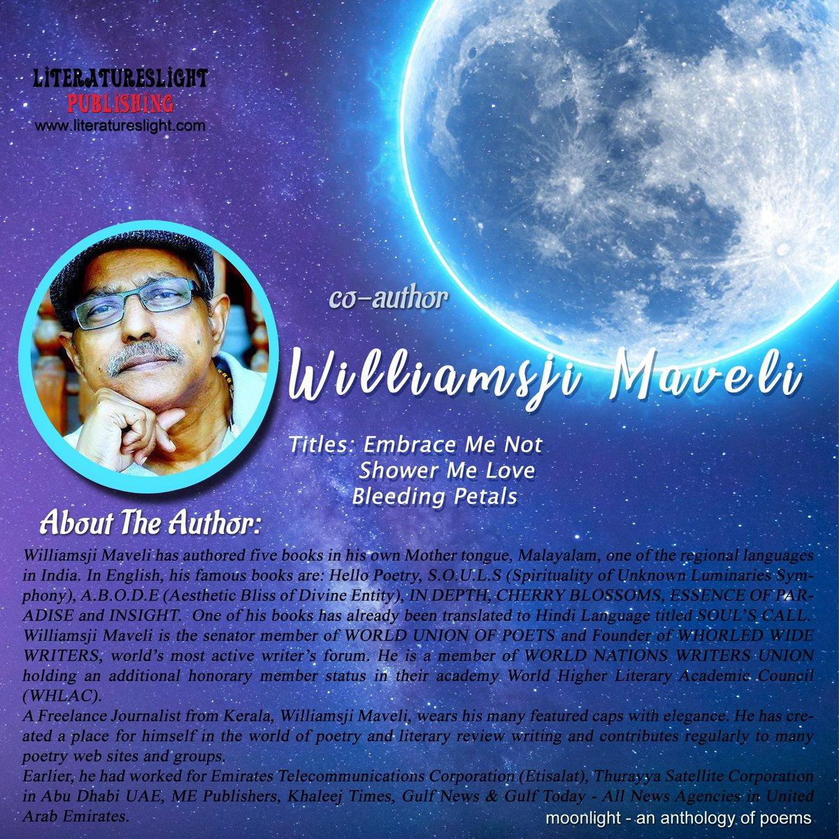#literatureslight #poetryanthology #moonlight  Thank you for the contribution Williamsji Maveli#poetry #booklovers #writeindia #newindianauthors #indianauthors #poetsofindia pic.twitter.com/046QkqOtdX