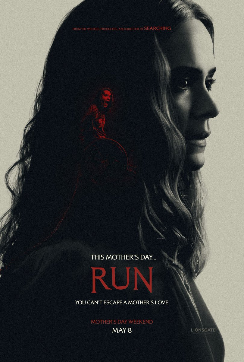 Check out these two NEW official posters for @Lionsgate 'RUN'  #Run #RunMoviepic.twitter.com/7FMdQlG3j7