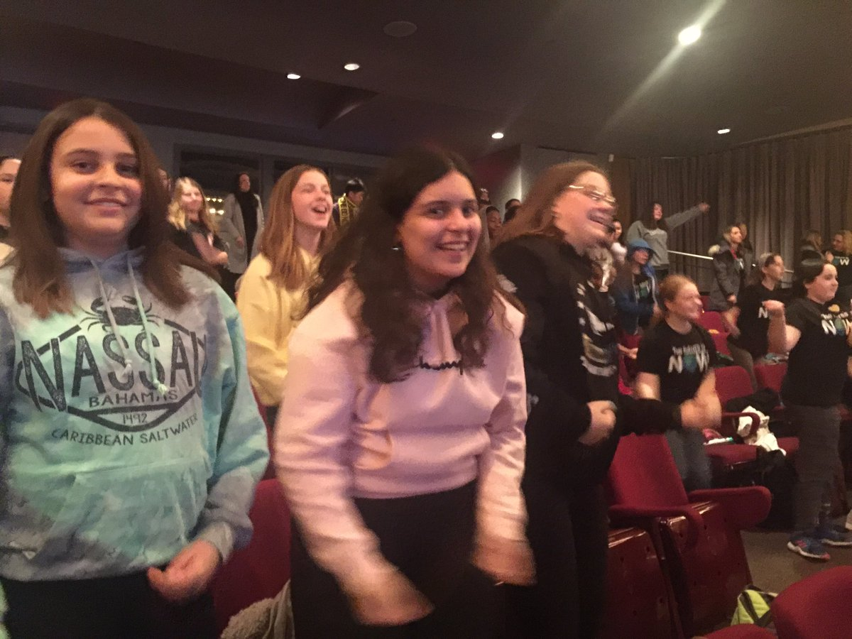 Cardinal Carter Middle School Cougars are dancing up a storm at WECDSB WE Day today! On the path of becoming changemakers! pic.twitter.com/f06fmkbbkA