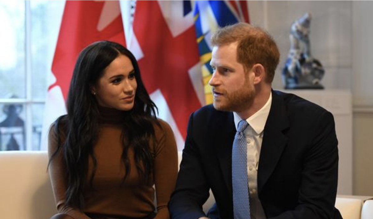 Meghan Markle and Harry disappointed with Megxit deal as Queen sticks to her guns mirror.co.uk/news/uk-news/m…