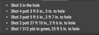 Byeong Hun An just four putted from 25 feet and three putted from three feet...