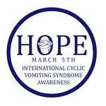 Image for the Tweet beginning: International CVS Awareness day is