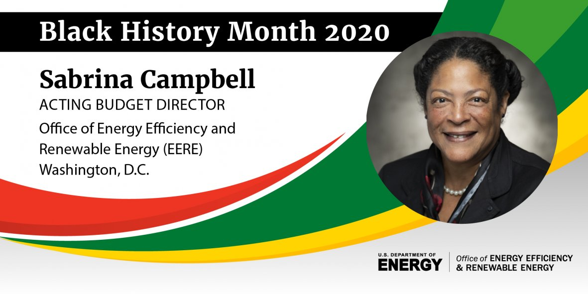 The Office of Energy Efficiency and Renewable Energy honors #BlackHistoryMonth and the tremendous positive impact of diversity on the office's mission, vision, accomplishments, and goals.  View @eeregov's selected honorees: https://bit.ly/2uT2M3P