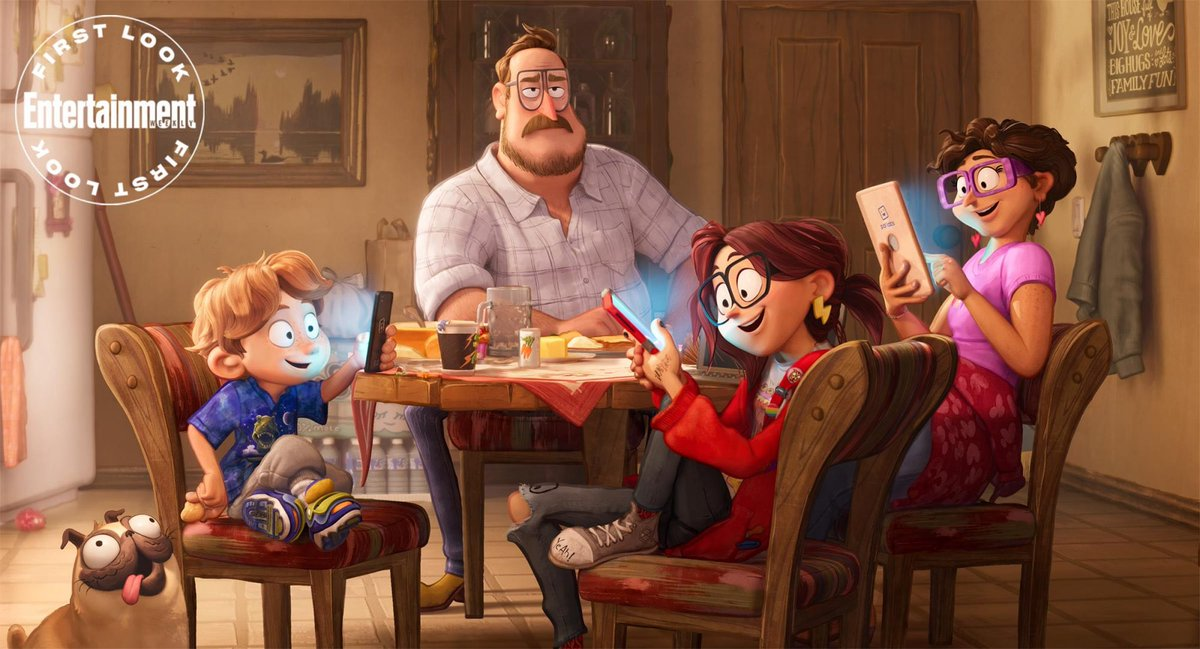 Check out these FIRST LOOK images from Phil Lord & Chris Miller's upcoming animated film 'CONNECTED'  The film features the voice talents if Abbi Jacobson, Danny McBride Maya Rudolph & Olivia Coleman! The film hits theaters September 18th!   Via: @EW #Connected #ConnectedMoviepic.twitter.com/dB7aDOmkfr