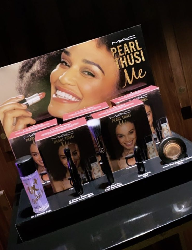 Well done @PearlThusi 🎉🥳💕💖👑 #MacxPearl