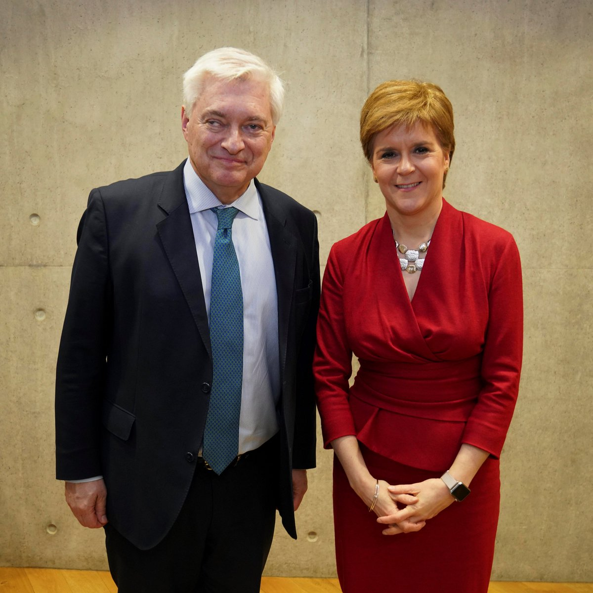 FM @NicolaSturgeon also welcomed @Wegger_Strommen to @scotparl today. Norway is an important partner for Scotland. @scotgov will continue to work closely on future opportunities with the Embassy and Norwegian Government 🇳🇴🏴 @NorwayinUK