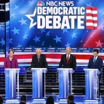 Image for the Tweet beginning: The Democratic debate, right from