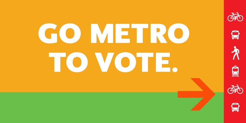 Metro to offer free rides on Election Day, March 3. bit.ly/2V53425