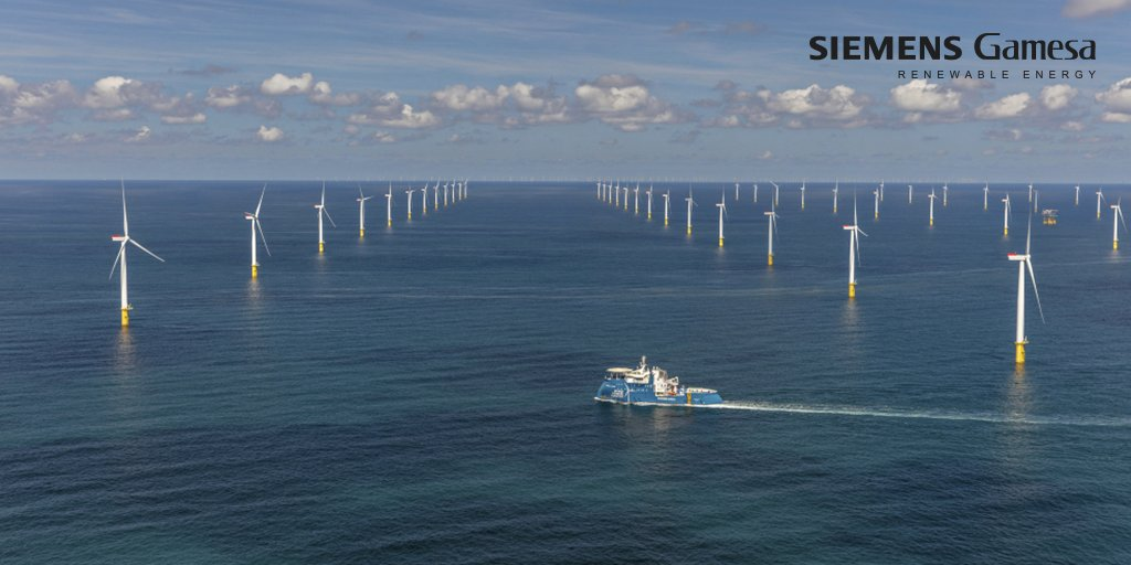 The future is wind! According to @BloombergNEF the market is expected to continue growing 💪 Thanks to our installations in Europe and the USA, we are also proud to reach 2nd place overall and to retain the number 1st position in the offshore market. https://www.bloomberg.com/news/articles/2020-02-18/vestas-loses-wind-turbine-market-share-to-ge-and-siemens-gamesa …