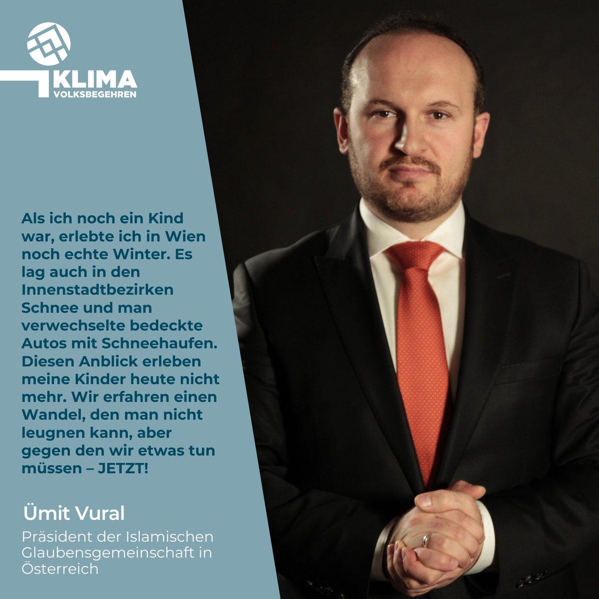 Die Islamische Glaubensgemeinschaft Österreich (@IGGiOE) unterstützt das Klimavolksbegehren    Unterstütze uns jetzt auch du mit deiner Unterschrift, dies ist noch bis 3.3.2020 auf möglich!  #klimavolksbegehren #machtsendlich #umsetzungjetztpic.twitter.com/ifU88L8rez