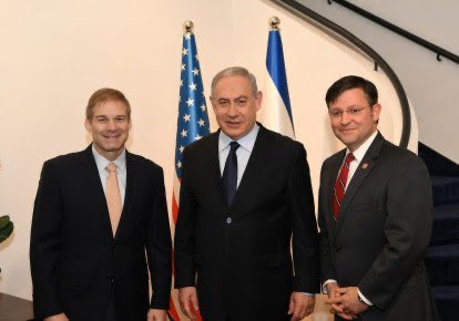 Israel is America's closest ally and great friend.  Great to travel there this week with @RepMikeJohnson, visit historical and holy sites, and meet with Prime Minister @Netanyahu.