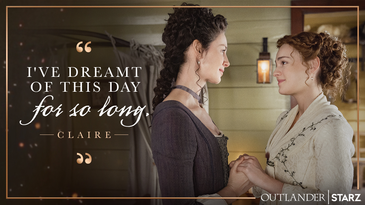 Replying to @Outlander_STARZ: Wholesome content alert. #Outlander