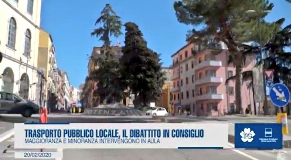 #Trasporto locale, il dibattito in Consiglio regio...