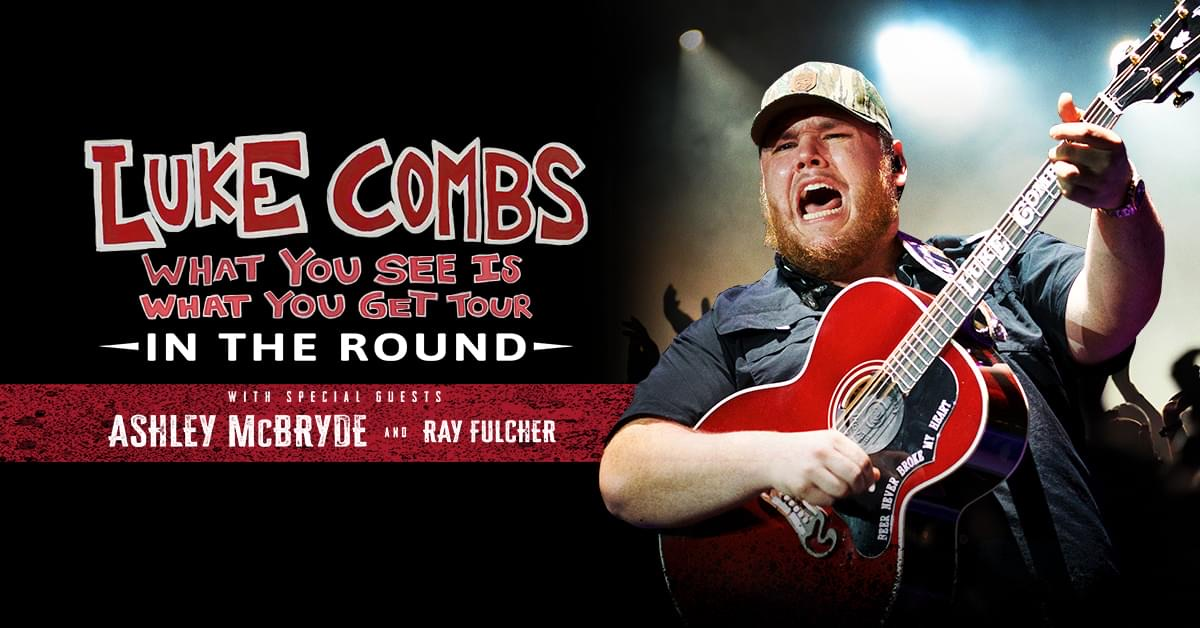 Wow! Excited for this! @lukecombs and @AshleyMcBryde Sep 25th at @aacenter ! Full info at http://www.995thewolf.com  #whatyouseeiswhatyougettourpic.twitter.com/cqcJm3dcyY