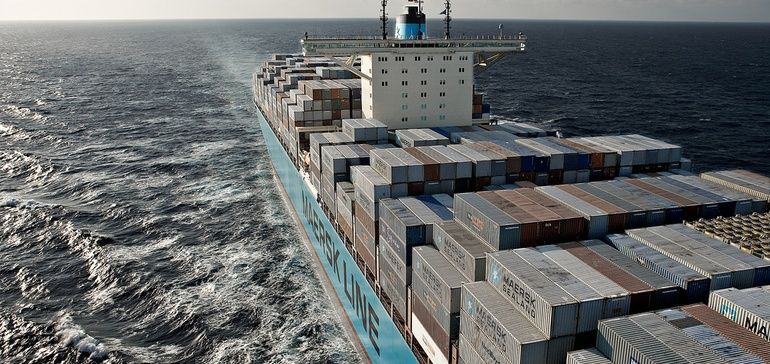 """""""There are still plenty of risks out there,"""" Maersk CEO Søren Skou said, as the carrier lowers volume projections and faces uncertainty from the coronavirus outbreak.  #Maersk #coronarovirus #COVID19 #SupplyChain"""