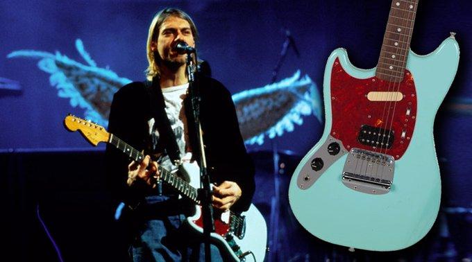 Happy Birthday!!  Kurt Cobain\s Mustang