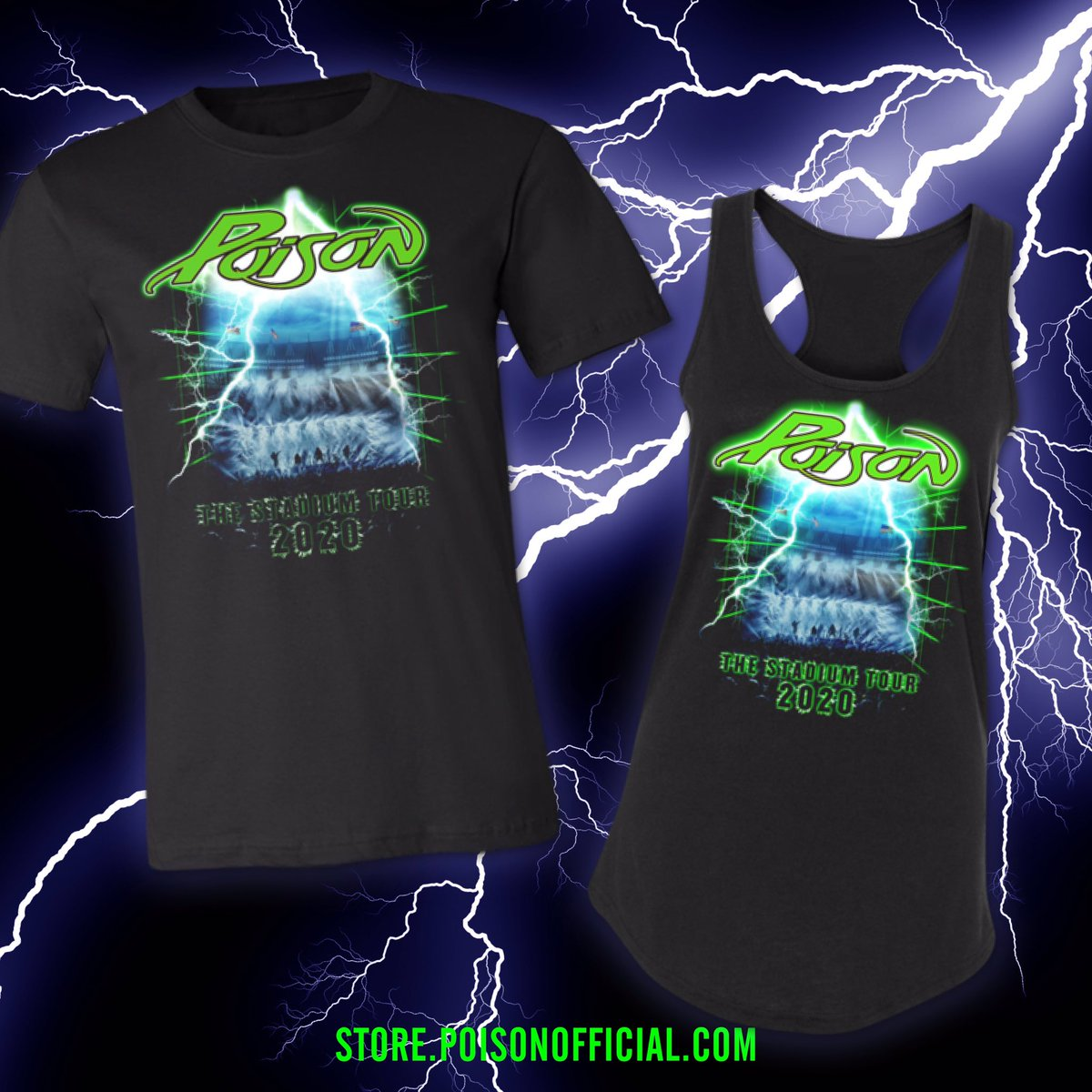 ⚡️Tour tees that are ELECTRIC ⚡️ Get yours now! bit.ly/2SKqoR6