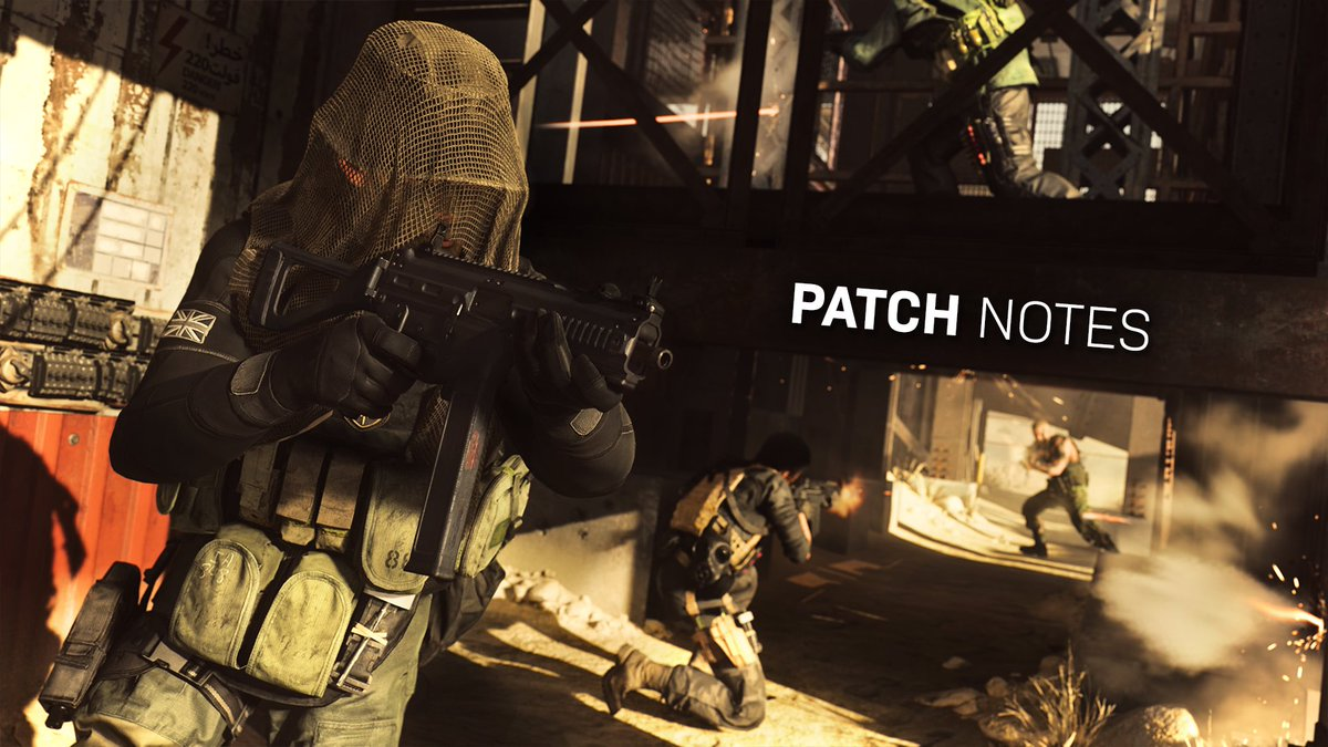 Call Of Duty: Modern Warfare Updates Go Live; See The Full Patch Notes Here - GameSpot