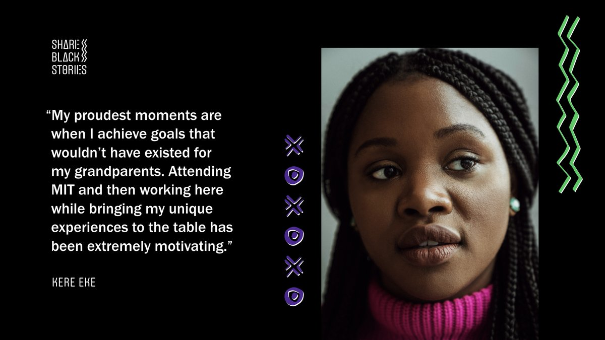 Kere Eke, analyst, on her proudest moments: