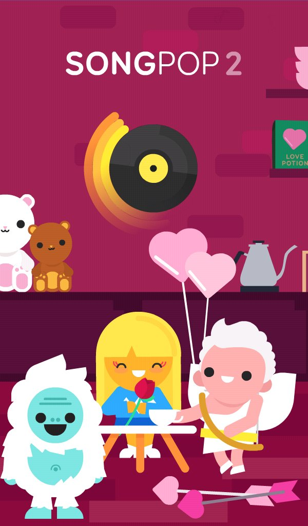 does @SongPop1 think it's time to stop hyping #HappyValentinesDay? Apparently, not Yeti! pic.twitter.com/bFQEzYP6Fk