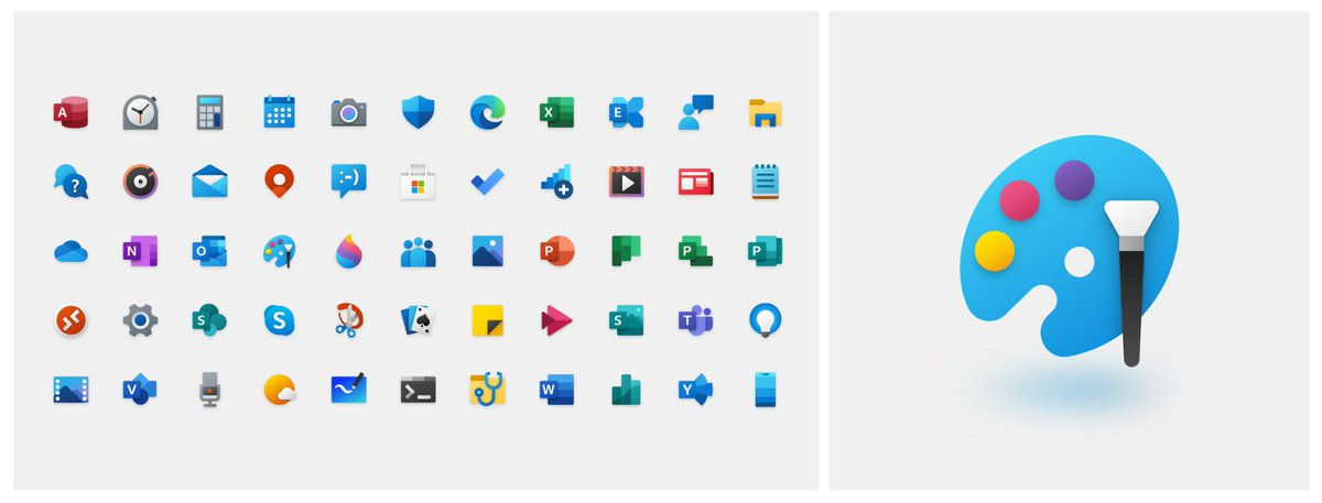 RT @JenMsft: New icons ✨ - what do you think?  ➡ https://t.co/8stTdQvYYr https://t.co/5BdIyzlufd