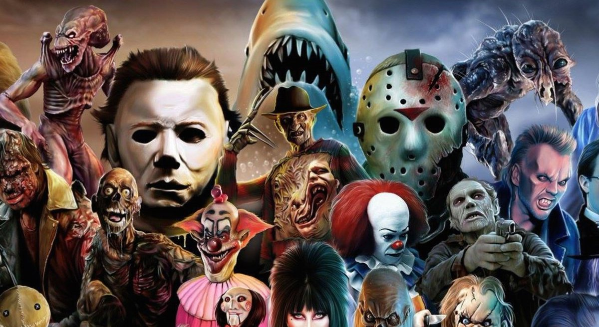 Im a friendly chap in love with #horror!   I enjoy making #horror synopsis of the films I've seen. I will complete a franchise even if there are installments I don't like. Everyone's opinion matters!  I thank everyone in advance for any interactions you have with me!   #horror pic.twitter.com/yzCjc2akte