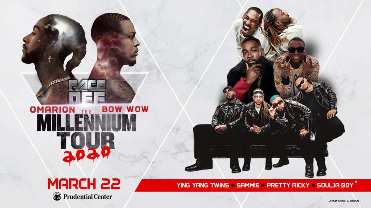 We are just ONE MONTH away from The Millennium Tour coming to #PruCenter!   #MillenniumTourPru |