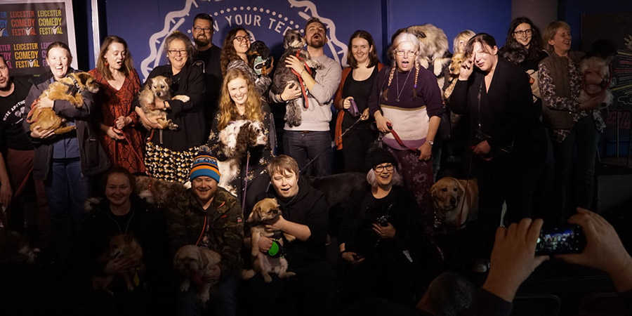 "Various comedy shows around the country are inviting audience members to bring along their dogs. ""The unpredictability of the dogs made everything more enjoyable"": http://bit.ly/2SZMrlQ pic.twitter.com/YDkmbHSkQw"