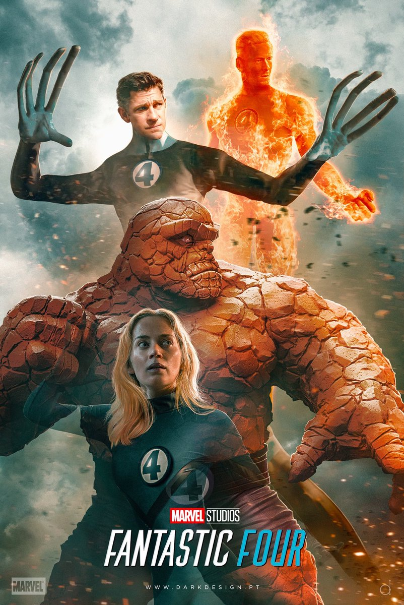 RT @MarvelousRealm: Stunning Fantastic Four Fan Poster🚨  [Artist 🎨 ➟ @nunosarnadas] https://t.co/VNY7gXRTqX