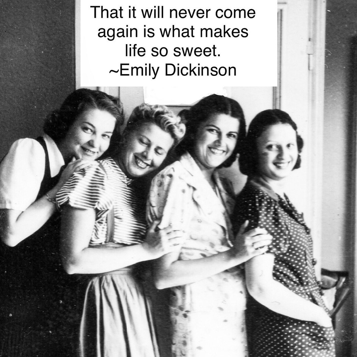 """""""That it will never come  again is what makes  #life so sweet."""" #EmilyDickinson  #quotestoliveby #quotes #livingmybestlife #live #love #friends #family #enjoylife #enjoythemoment #togetherness #goodlife #goodliving #enjoythelittlethingspic.twitter.com/QUVmGMxSSx"""