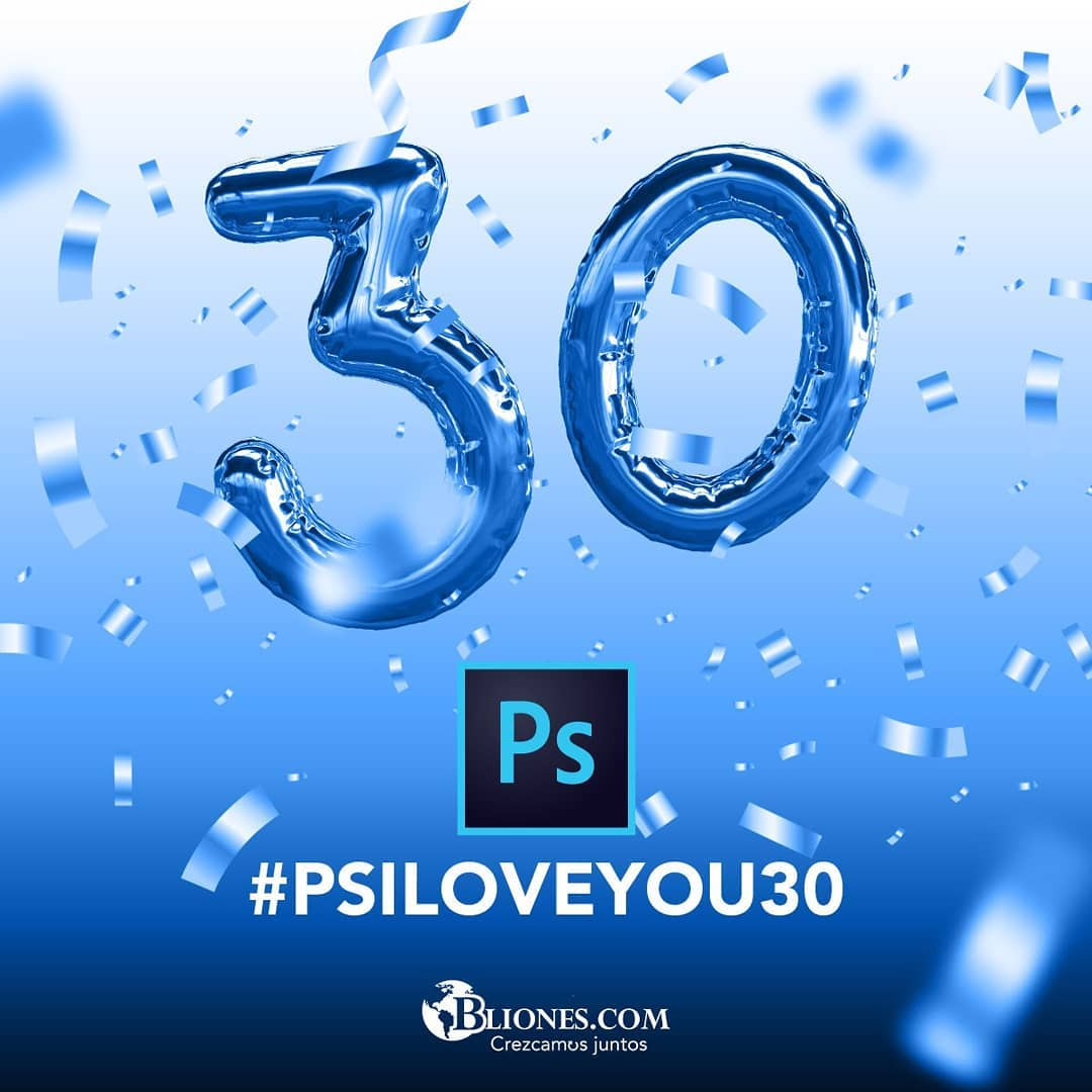 Happy birthday  @Photoshop 1990-2020 #PSILOVEYOU pic.twitter.com/dlunJetpad
