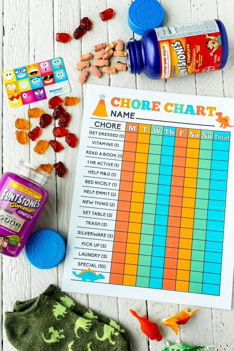 It can be hard to get the kids motivated to do #chores, but it's so much easier with this printable #chorechart! Perfect for creating a family routine!https://www.playpartyplan.com/printable-chore-charts-for-kids/…