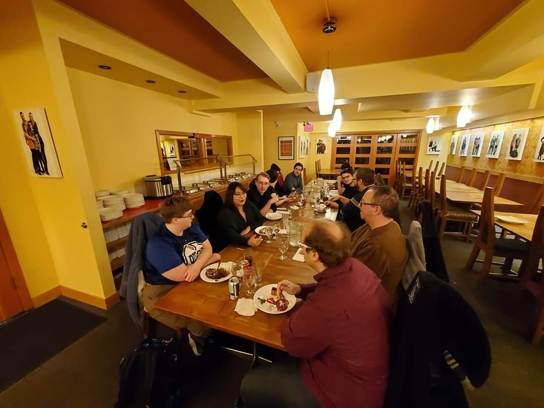The first #yegdev Supper Club went really well! 16 people came together and enjoyed yummy food and great conversation. Thank you everyone! If you have any #yegfood reccs, please send them in! The next supper club will be Wednesday, March 18th ☺️