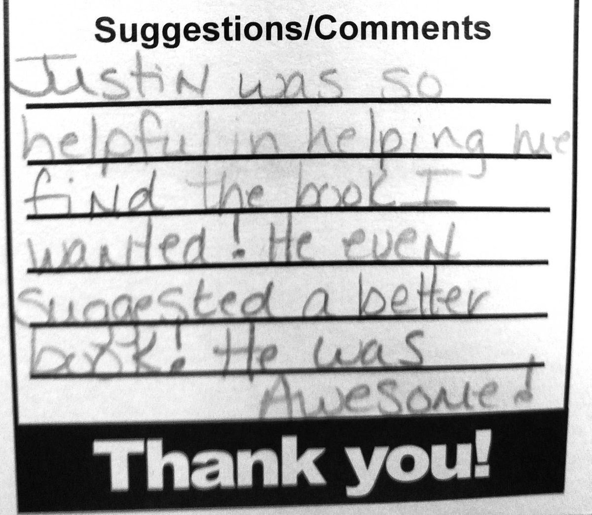 #TBT to this fried slice of customer service gold. #work #flawless #review