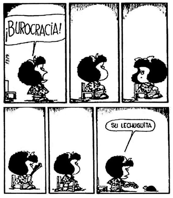 """Mafalda on Twitter: """"Burocracia... #MafaldaQuotes… """""""