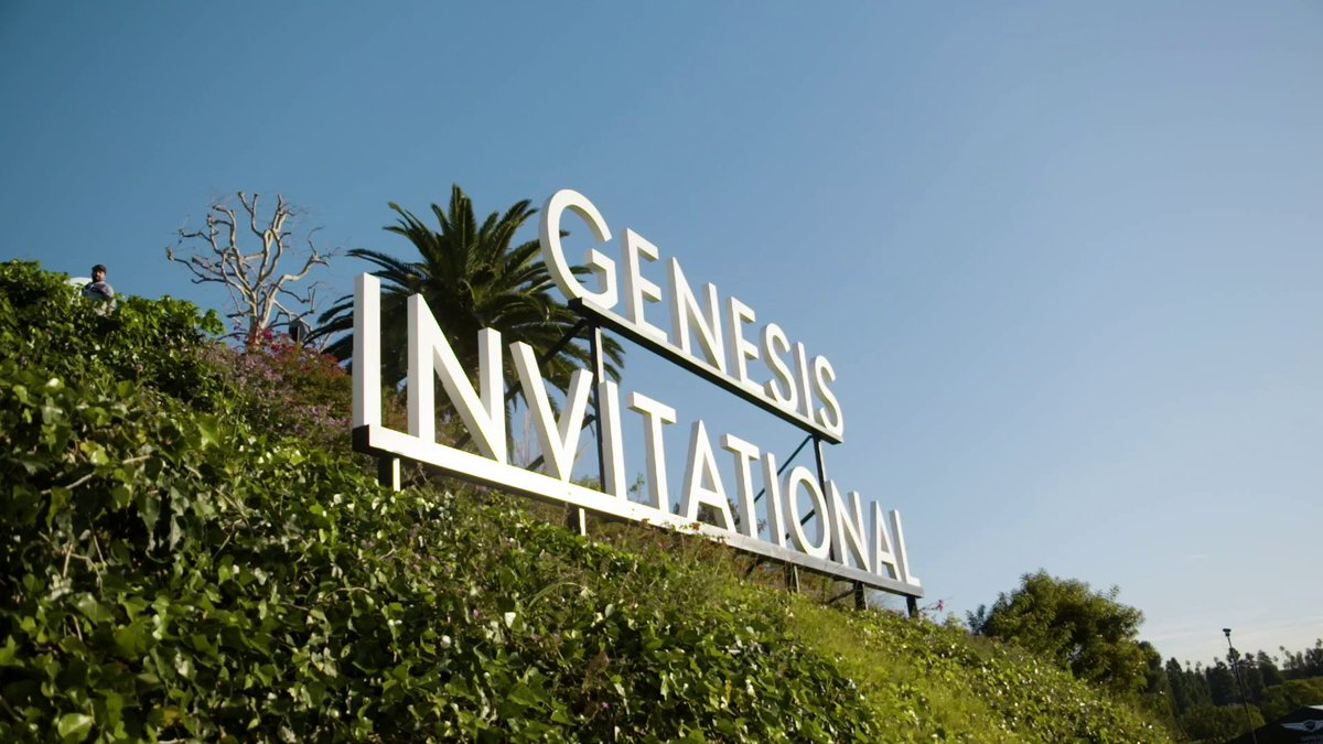 18 holes in 30 seconds. Here's a last look at the 2020 #GenesisInvitational . #GV80  #G70