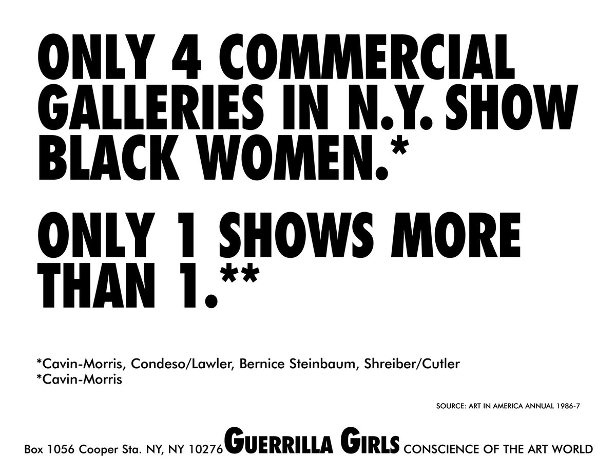 These posters +more are on view at the @WellinMuseum 'SUM Artists: Visual Diagrams and Systems-Based Explorations' presents artists who investigate various subjects through the process of data visualization. #WellinMuseum #SUMArtists #GuerrillaGirls Link in our bio! pic.twitter.com/BNAnL4iGbd