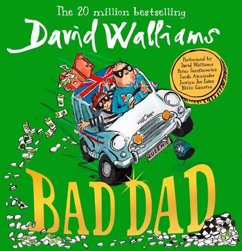 #DavidWalliams'  10th novel, #BadDad , will be written and produced by the man himself for Netflix