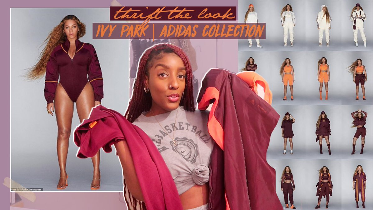 THRIFT THE LOOK   BEYONCE IVY PARK ADIDAS COLLECTION $40 CHALLENGE https://t.co/7pgtzfp4WF via @YouTube #sainsbey #beyonce #ivyparkadidas #thriftthelook https://t.co/5uMfT19eQP