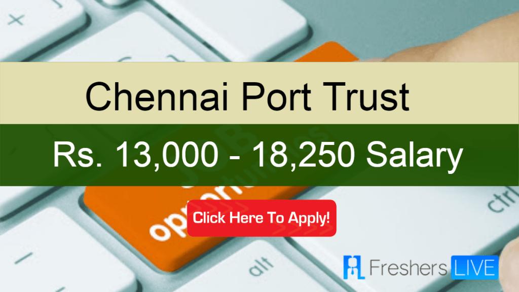 Chennai Port Trust Sarkari Naukri 2020: Recruitment of Personnel Officer Vacancy, 18,250Salary https://go.dsmenders.com/chennai-port-trust-sarkari-naukri-2020-recruitment-of-personnel-officer-vacancy-18250-salary/…pic.twitter.com/7WFgk3iA9N