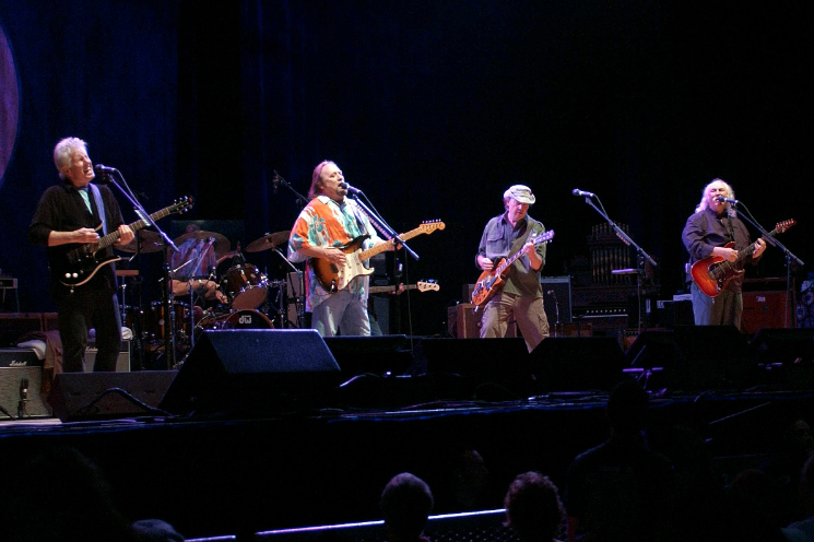 Flashback: See CSNY call for the impeachment of President George W. Bush rol.st/2SHYuVU
