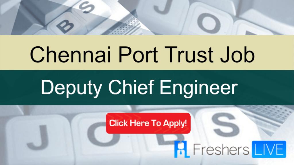 Chennai Port Trust Sarkari Naukri 2020: Recruitment of Deputy Chief Engineer Vacancies – 20,800Salary https://go.dsmenders.com/chennai-port-trust-sarkari-naukri-2020-recruitment-of-deputy-chief-engineer-vacancies-20800-salary/…pic.twitter.com/KjWw3e23ig