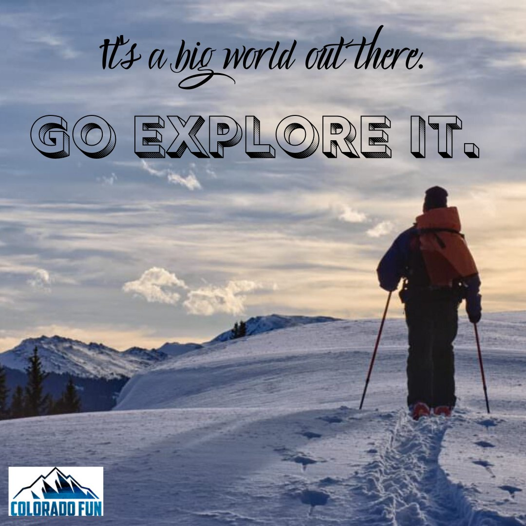 Colorado is beautiful in winter. Go explore!  @visitcolorado #coloradoadventure #coloradofun #explorecoloradopic.twitter.com/sNqWB0amdx