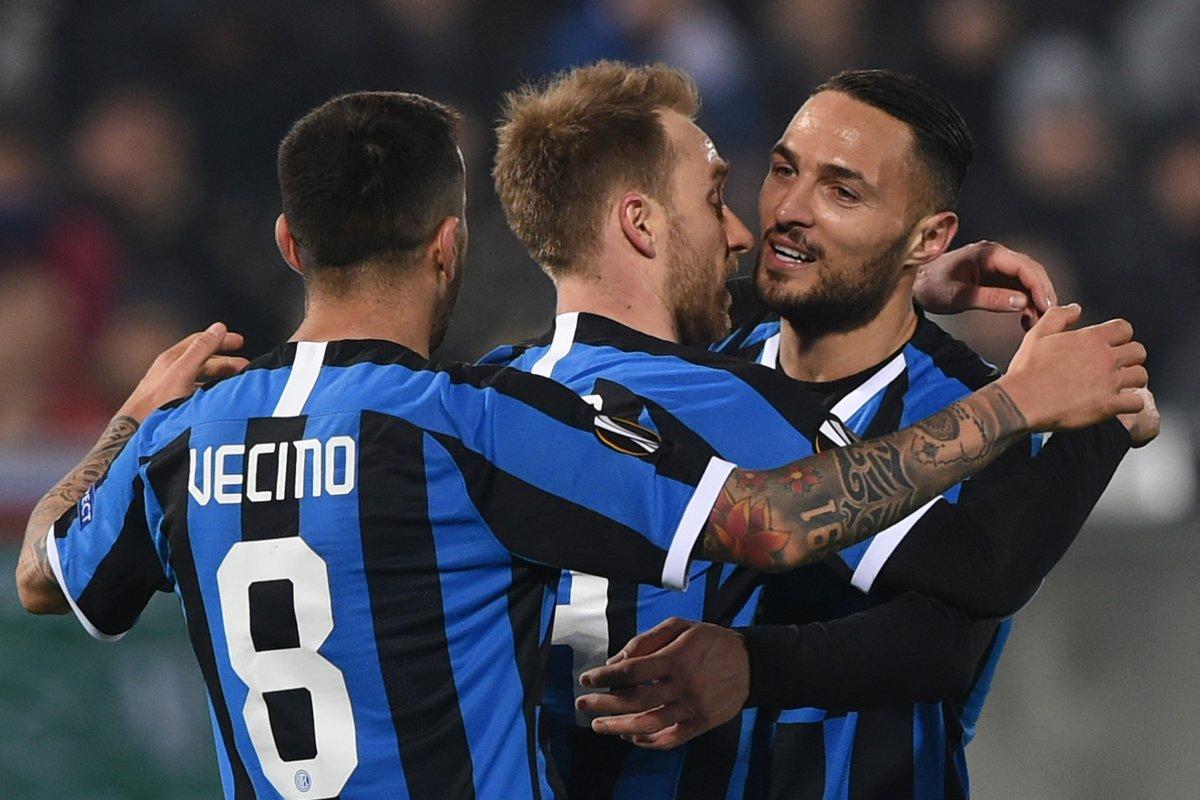 Inter Milan vs Ludogorets Highlights, 28/02/2020