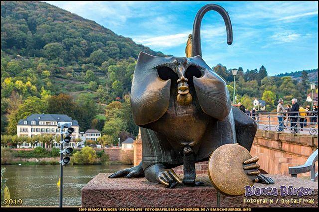 Der Brückenaffe - Heidelberg (Oktober 2019)  #Brückenaffe #Statue #Neckar #Heidelberg #heidelbergram #visitheidelberg #heidelberggermany #BadenWürttemberg #Deutschland #Germany #biancabuergerphotography #igersgermany #igersberlin #IG_Deutschland #ig_germany #shootcamp #canon…pic.twitter.com/QPBUg6gOMd